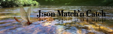 Json Match'n Catch Fly Fishing Lures Flies